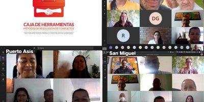 Se socializó la 'Caja de Herramientas' en los municipios de San Miguel, Valle del Guamuez y Puerto Asís